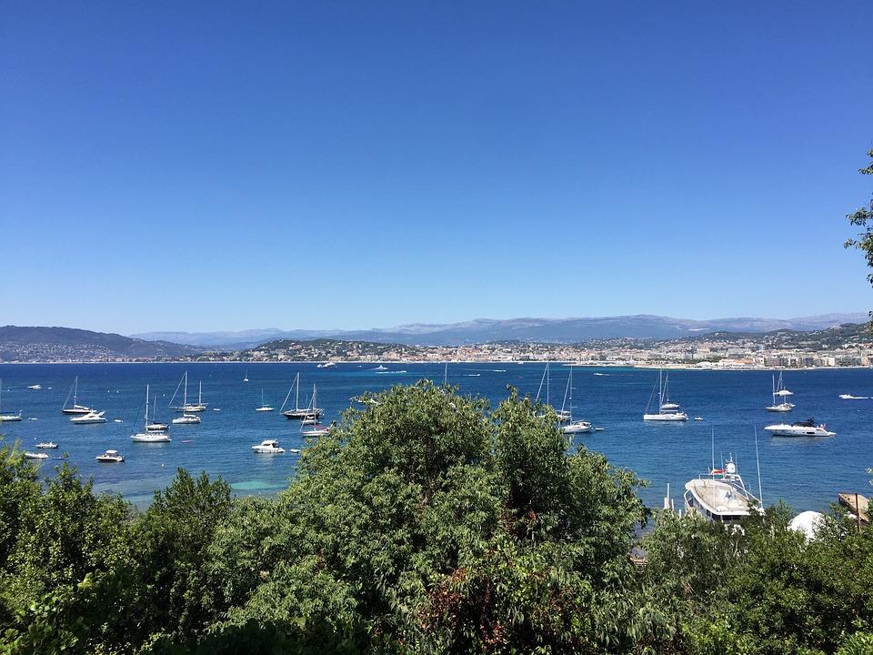 Water, Sea, Seashore, Travel, Beach, Cannes
