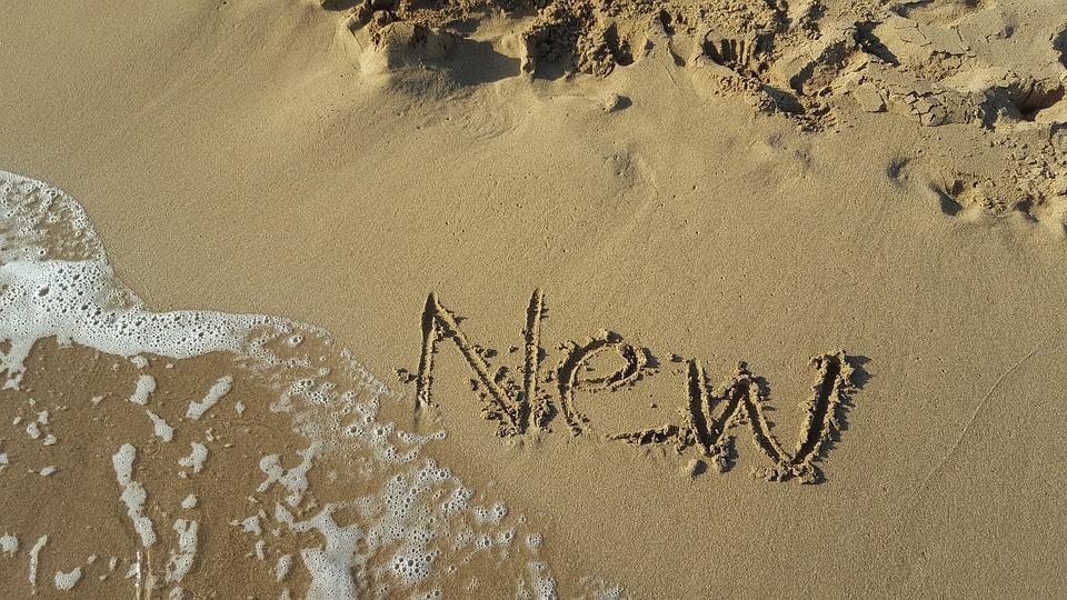 Sand, Beach, Nature, Seashore, Desert, New Start, Coast