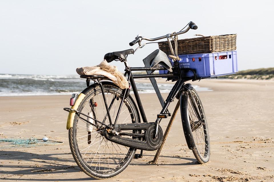 Bicycle, Beach, Sea, Seashore, Coast, Coast Line, Bike