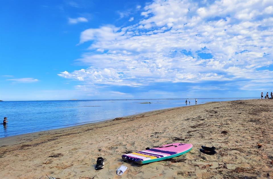 Beach, Ocean, Still, Water, Seashore, Sand, Coast