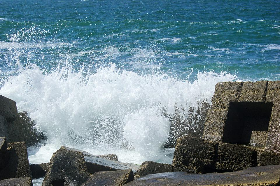 Water, Sea, Seashore, Ocean, Surf