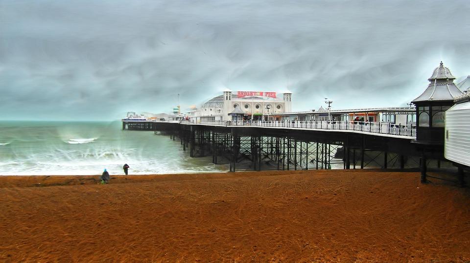 Brighton, Pier, Seaside, Sussex, Amusement