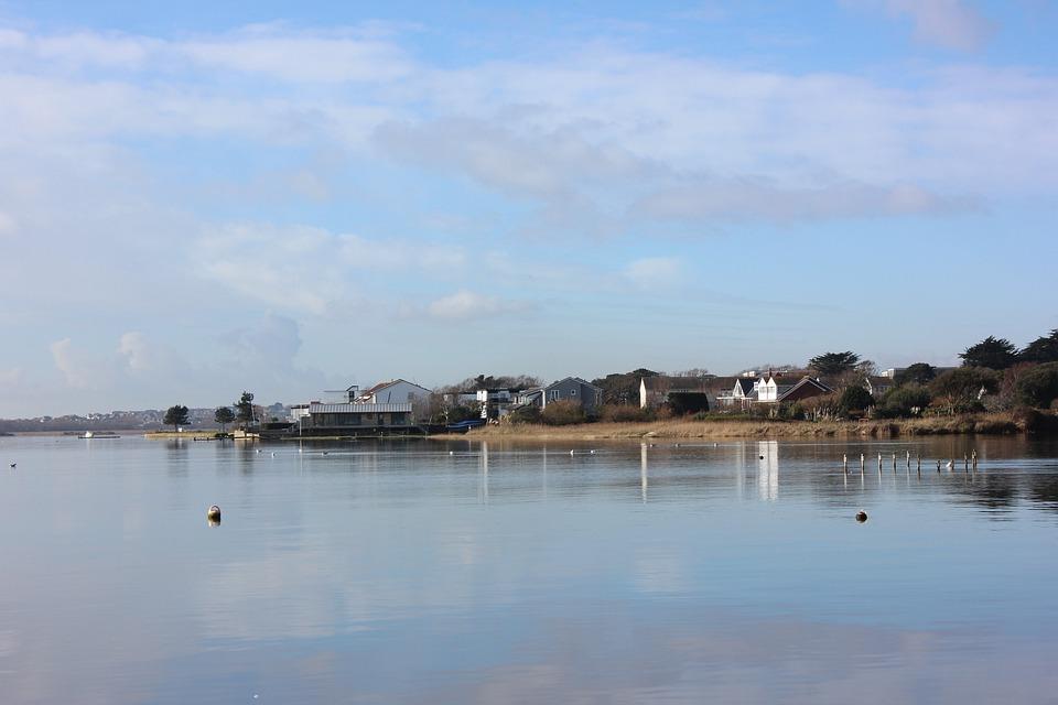 Christchurch Harbour, Mudeford, Dorset, Seaside