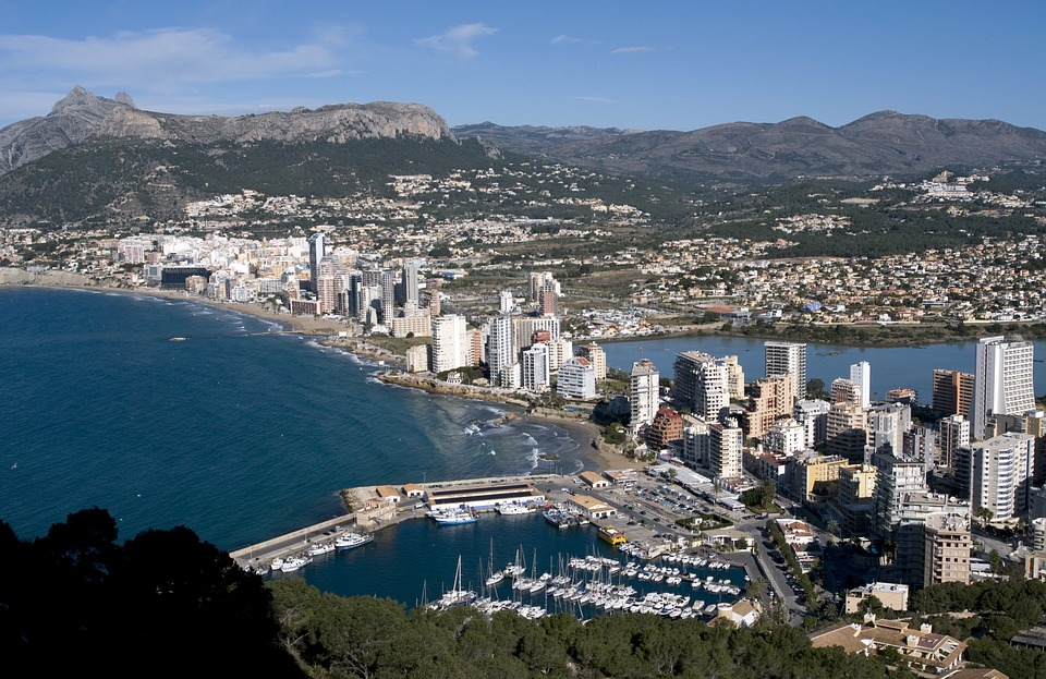 Calpe, Seaside, Sea, Harbour, Spain, Vacation, Holiday