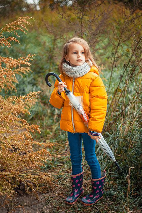 Girl, Autumn, Nature, Leaves, Season, Tree, Landscape