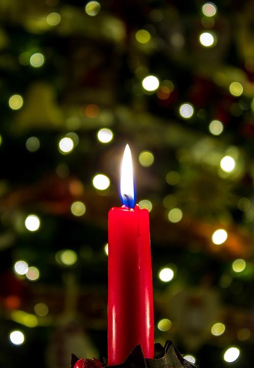 christmas candle christmas candle xmas seasonal - Candle Christmas Lights