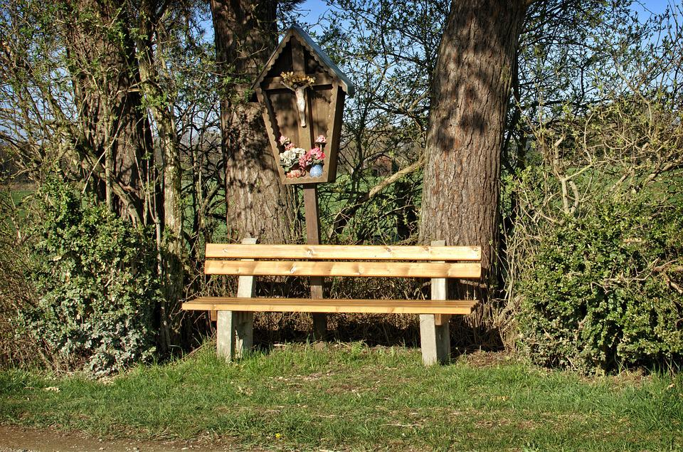 Bench, Bank, Seat, Nature, Out, Rest, Resting Place