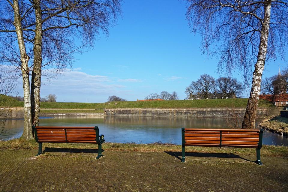 Schön Wooden Bench, Bench, Wood, Seat, Sitting, Relax, Water