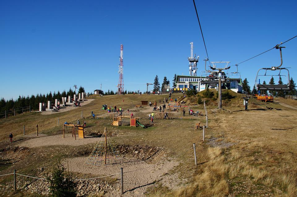 Cableway, Seater, Top, Medvědín, The Giant Mountains
