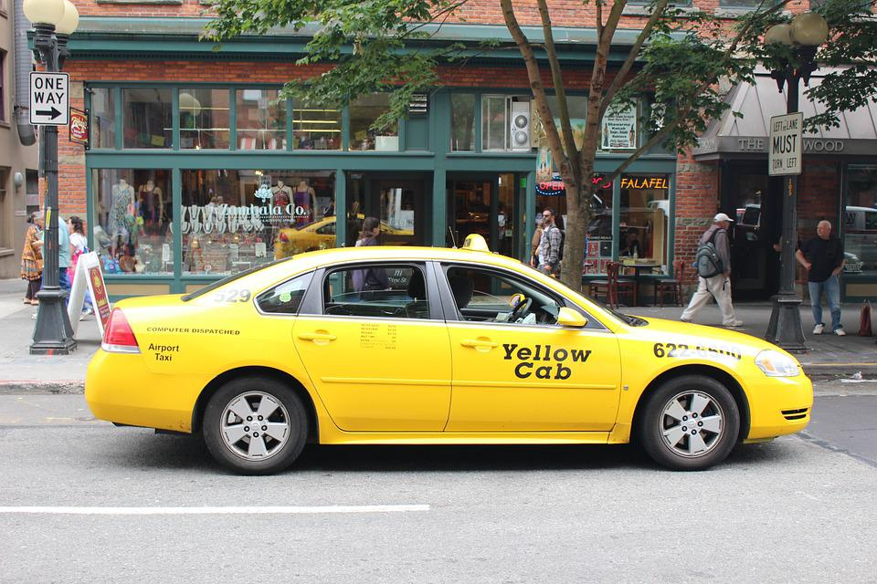 Seattle, Taxis, Yellow Car
