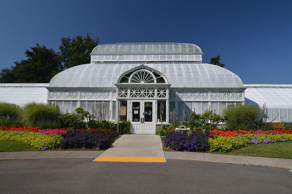Seattle, Volunteer Park, Conservatory, Botanical