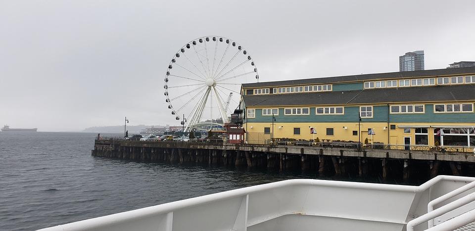Seattle, Waterfront, Ocean