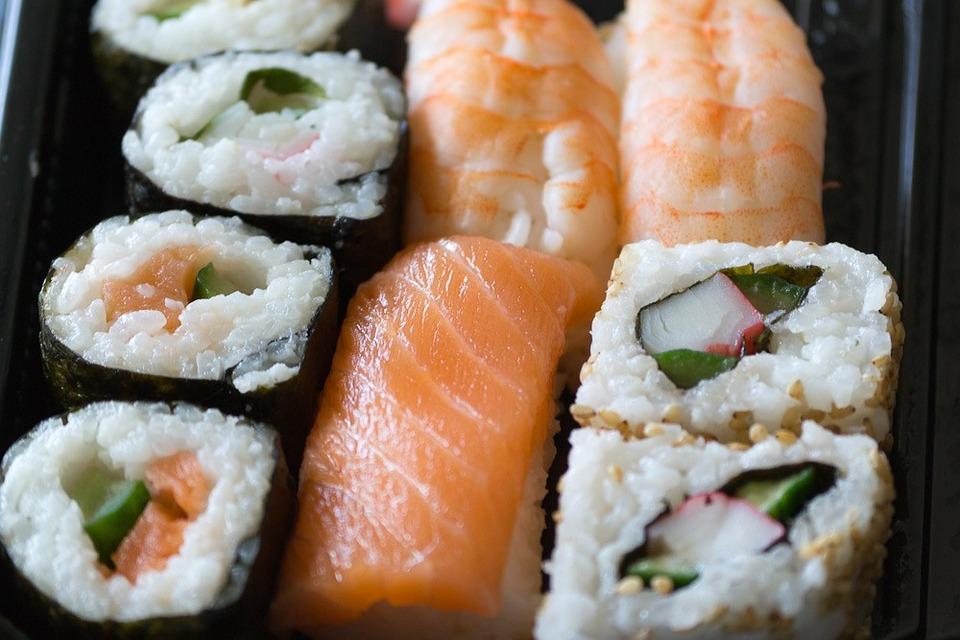 Sushi, Thailand, Asia, Thai, Raw, Salmon, Rice, Seaweed