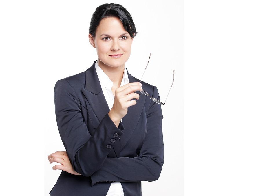 Business Woman, Woman, Secretary, Female, Business