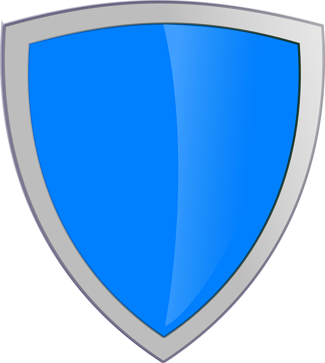 Shield, Blue, Security, Protection, Secure, Safety