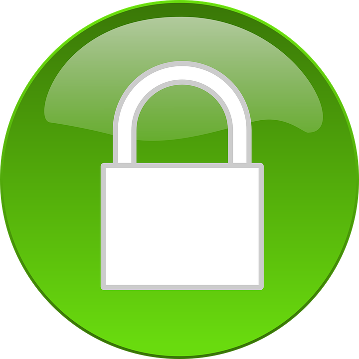 Button, Padlock, Security, Lock, Secure, Icon, Web