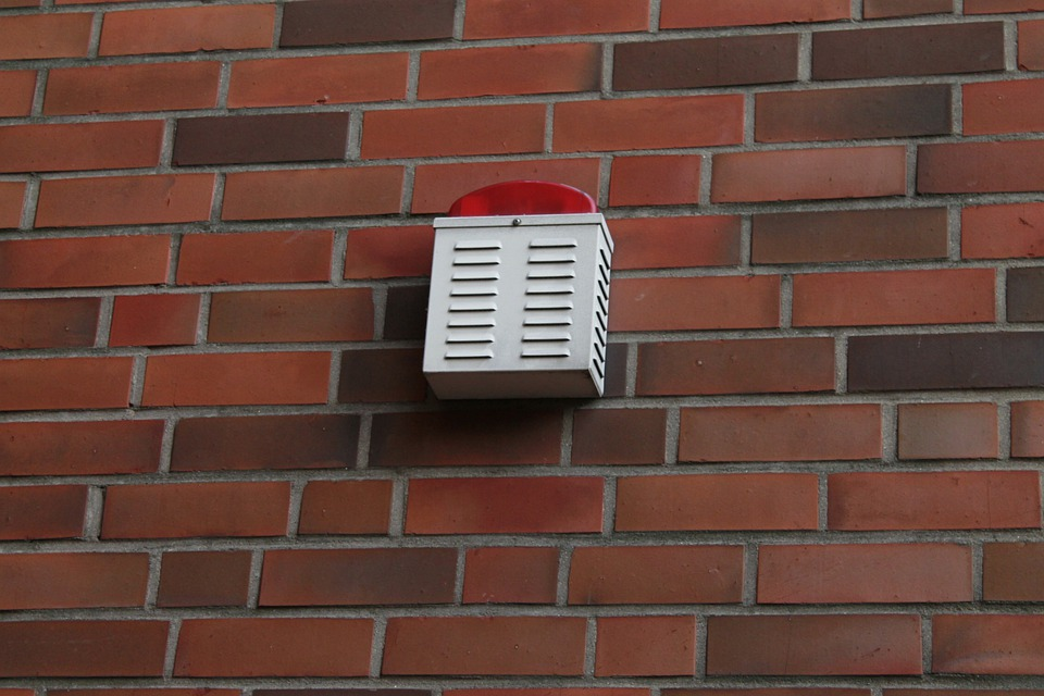External Alarm, Signal Light, Wall, Security