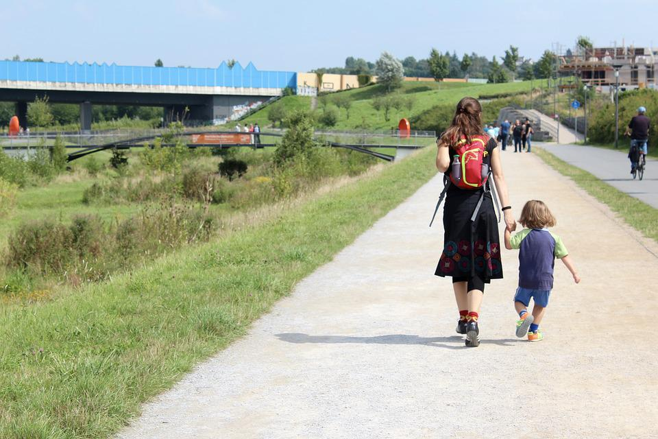Mama, Child, Security, Mother, Mom And Child, Walk