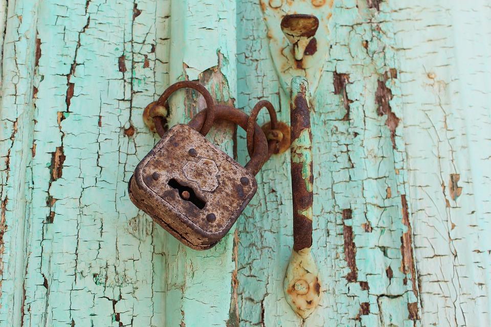 Padlock, Rusty, Lock, Rust, Security, Metal, Old