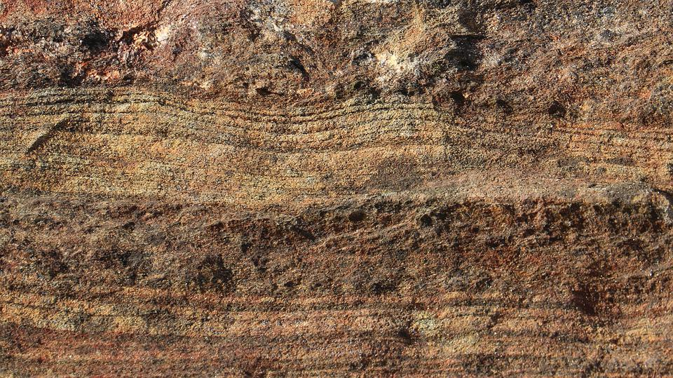 Natural Background, Sedimentary Rock, Strata, Layers