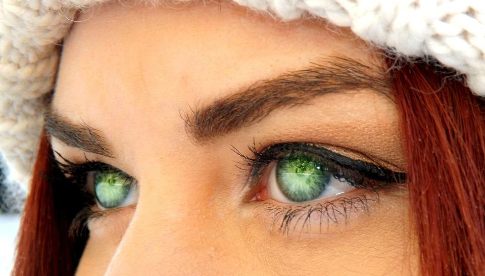 Eye, Green, Iris, Coloring, Seductive, Beauty, Makeup