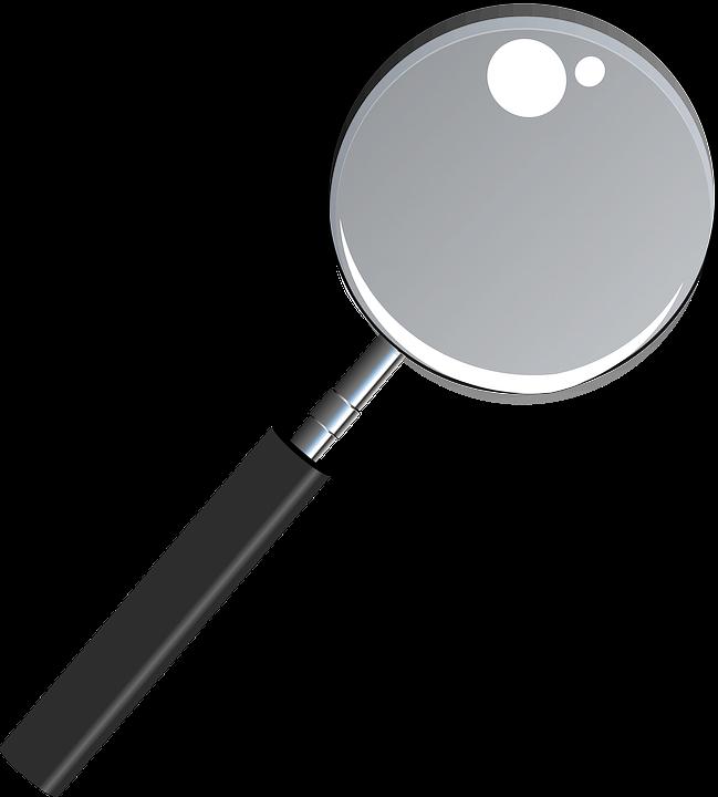 Magnifying Glass, See Thru, Transparent, Lens, Enlarge