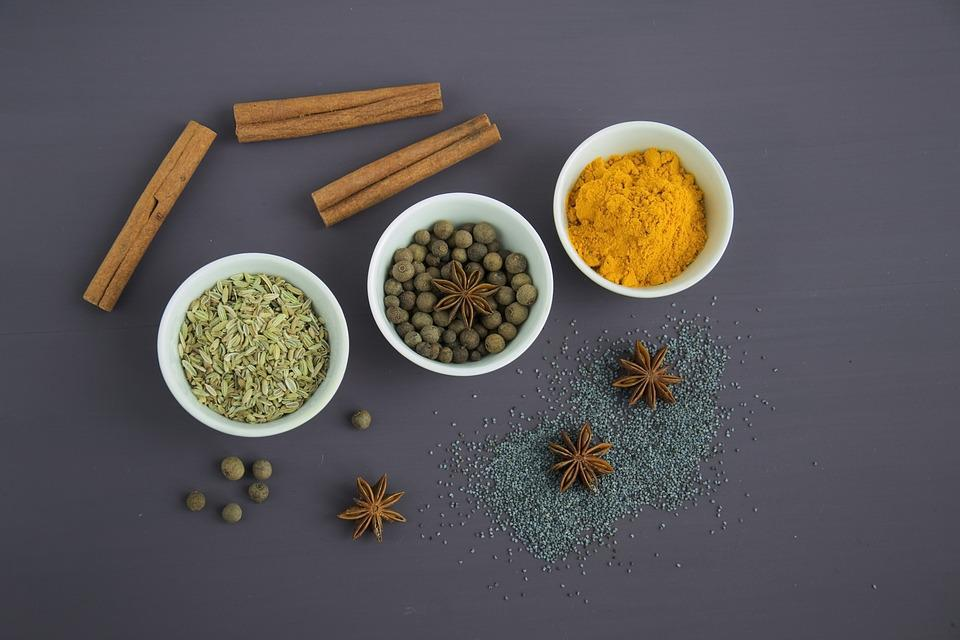 Spices, Seasonings, Food, Seeds, Star Anise, Sprockets