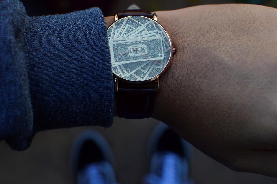 Time, Money, Clock, Dollar, Seem, Stress, Pressure