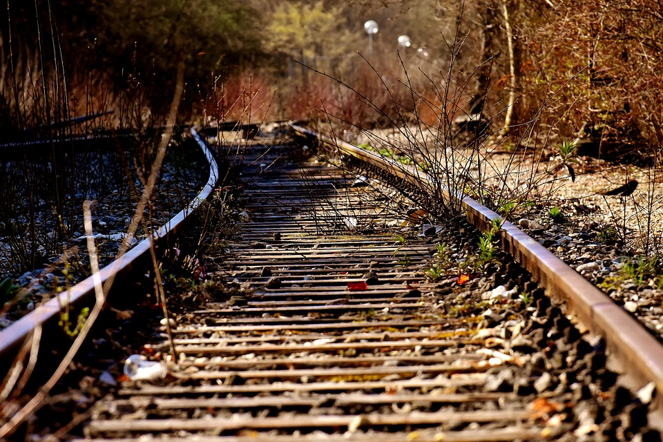 Seemed, Old Railroad Tracks, Lost Places