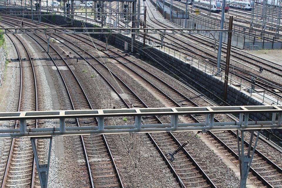 Track, Train, Seemed, Railway, Railway Station
