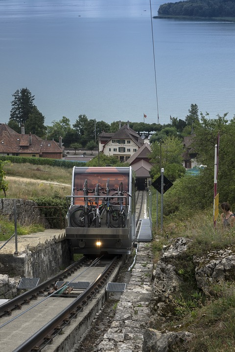 Mountain Railway, Funicular Railway, Wire Rope, Seemed