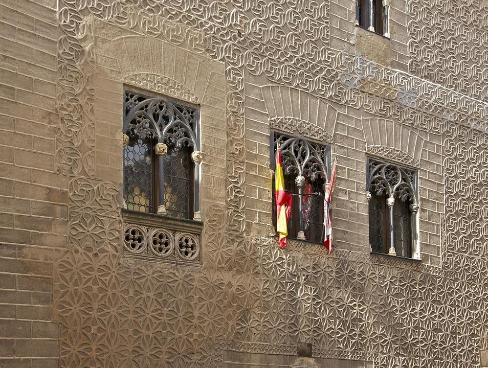 Spain, Palacio De Cascales, Segovia, Wall, Building