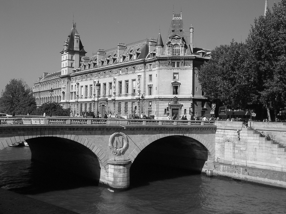 Paris, France, Bridge, Seine, Cityscape