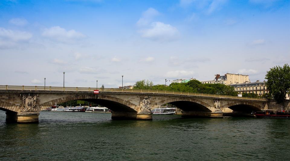 Bridge, Paris, City, Seine, France