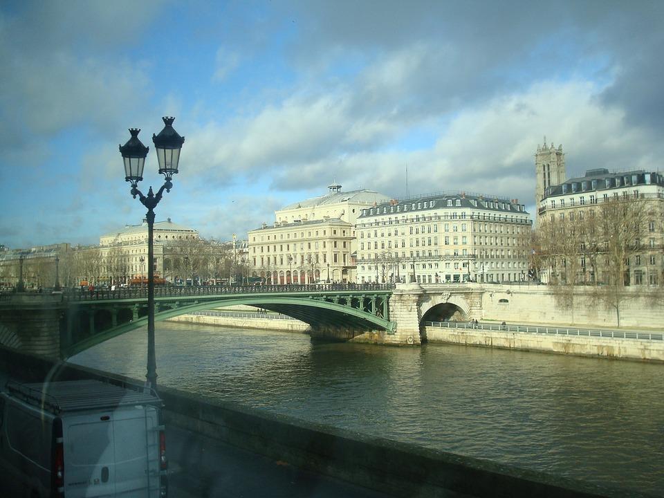 Paris, Arquitetuta, France, Eiffel, Seine River, Bridge