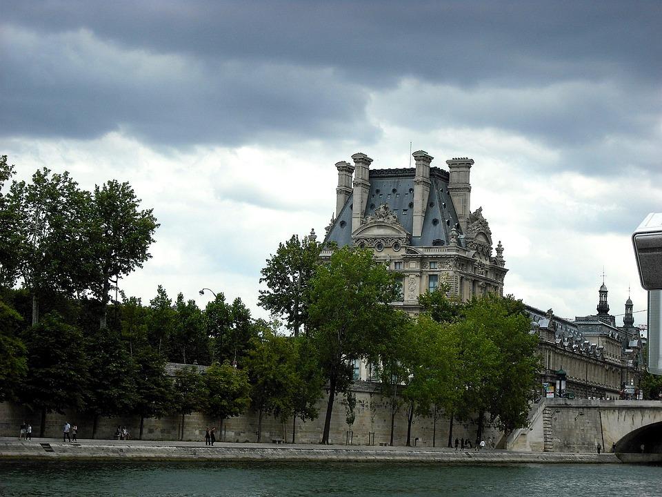 Seine, Paris, River, France, Architecture, Building