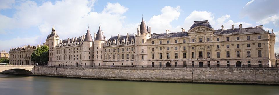 Paris, Seine, France, Architecture, River, Monument