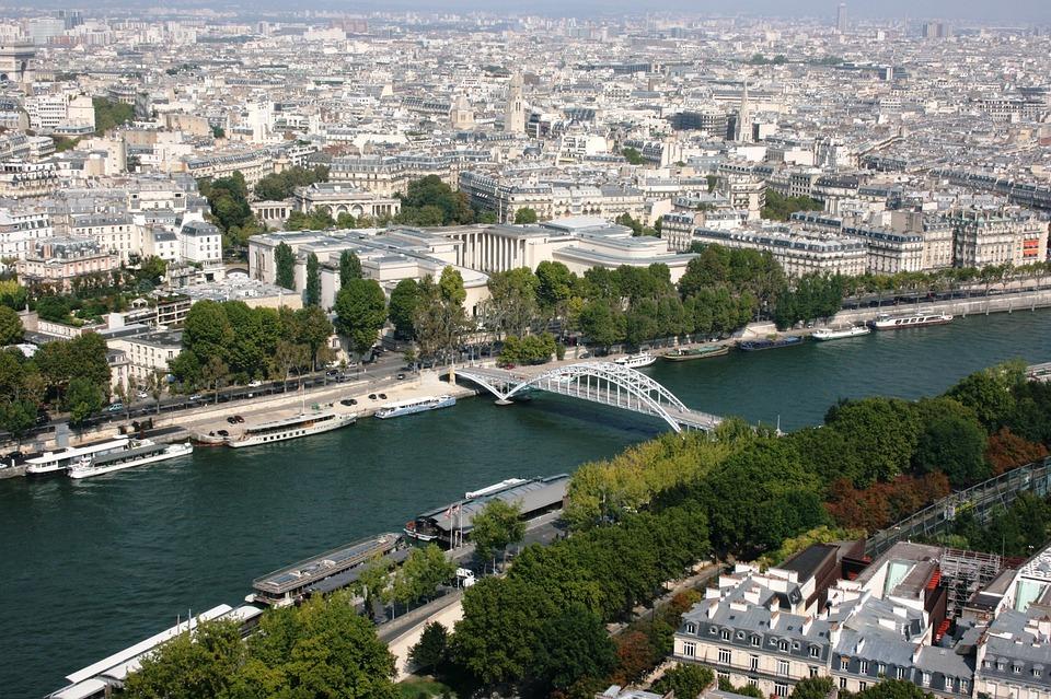 Paris, Seine River, Sanchez