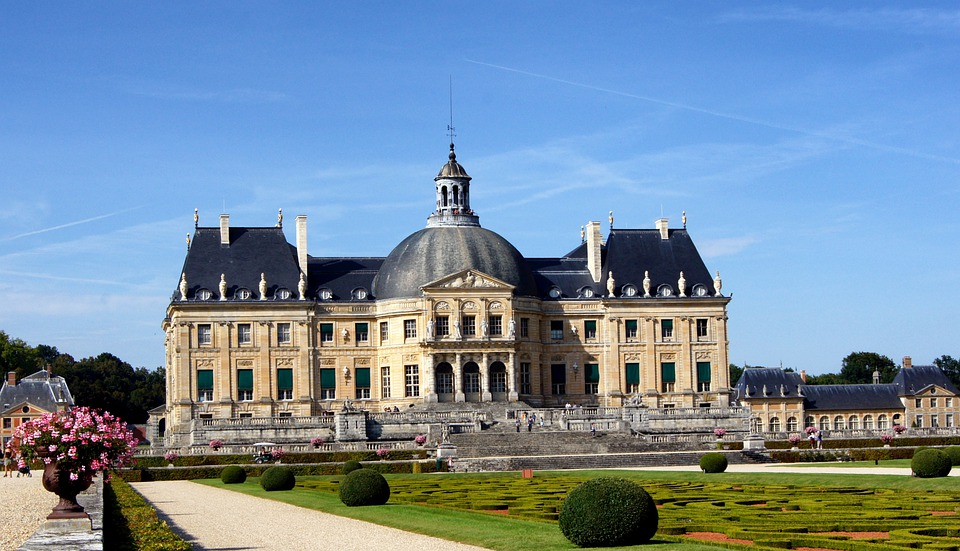 Seine-et-marne, France, Vaux Le Vicomte, Palace