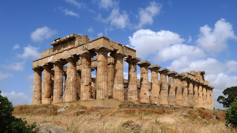 Sicily, Selinunte, Temple, Antiquity