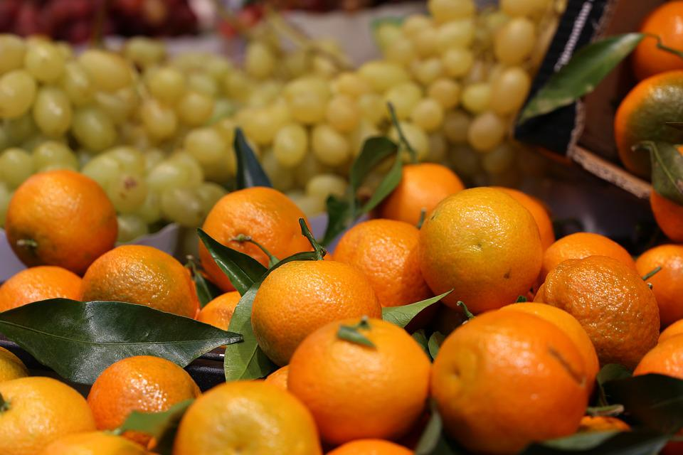 Clementines, Clementine, Outside, Sell, Vegetables