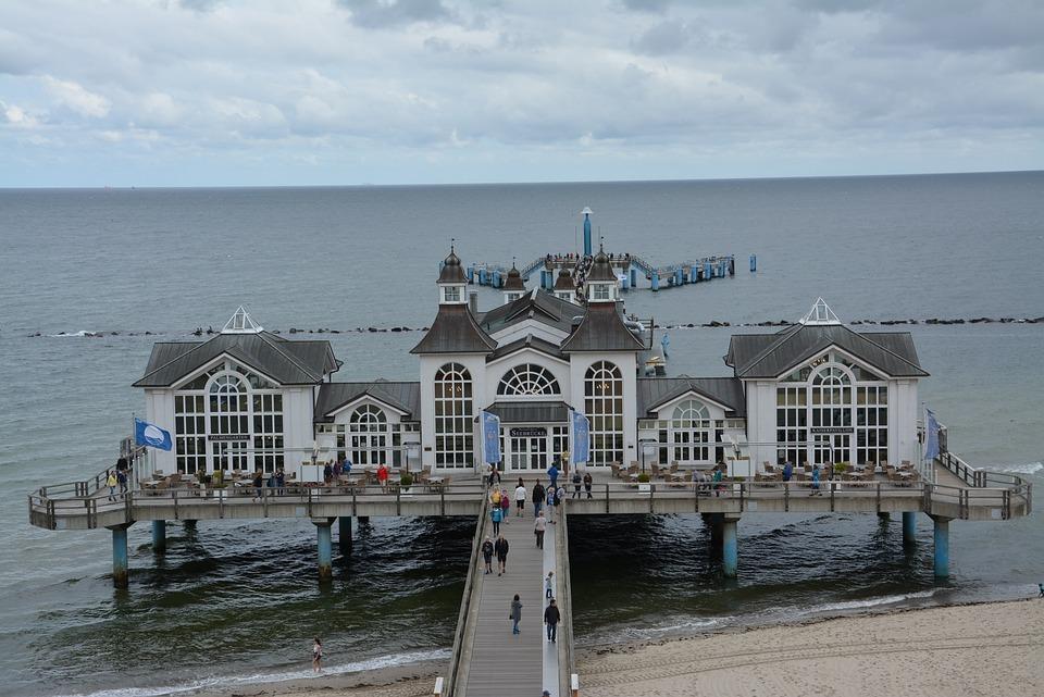 Sea Bridge, Baltic Sea, Island, Rügen, Sellin