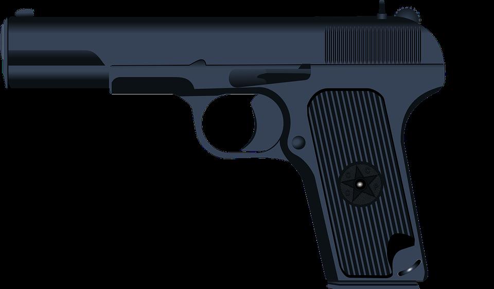 Pistol, Gun, Army, Semi-automatic, Weapon, Shooting