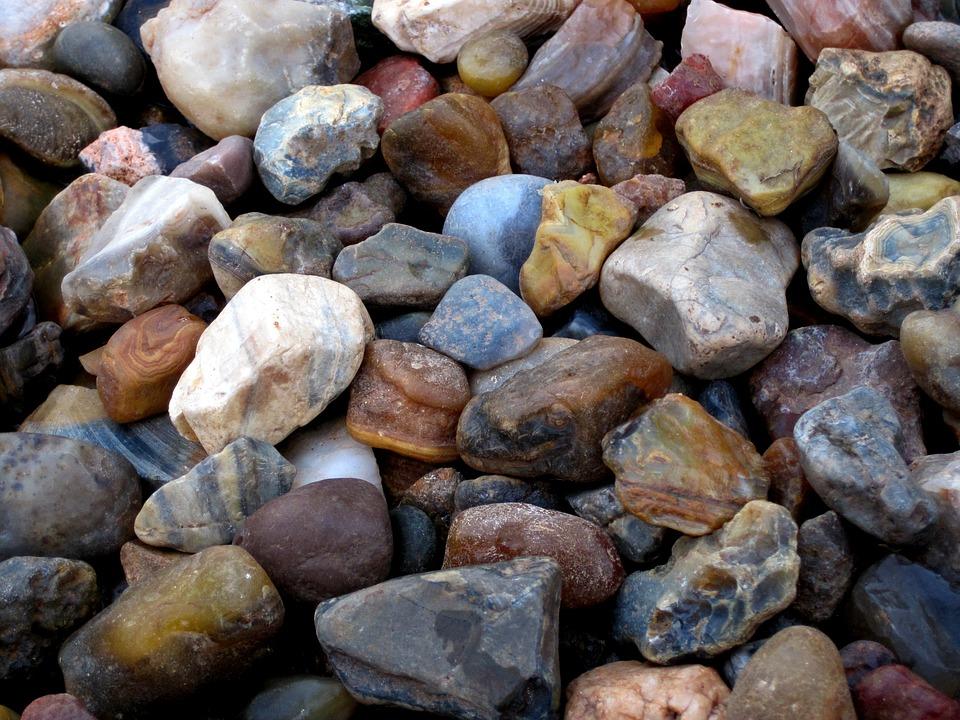Collection, Semi-precious, Stones
