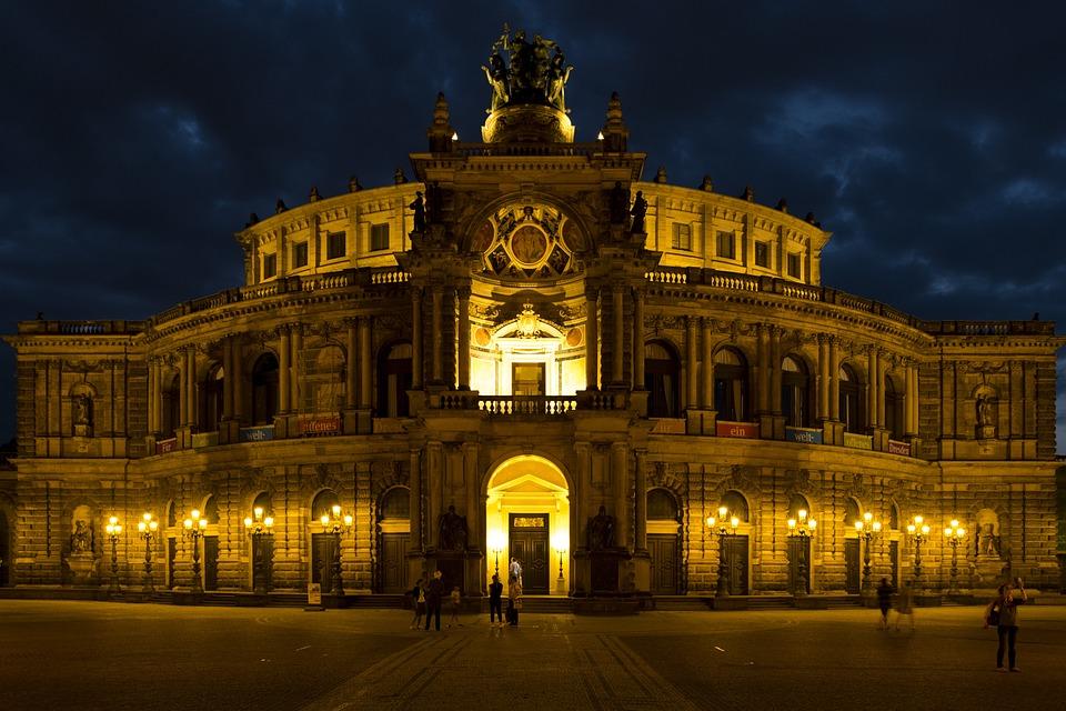 Semper Opera House, Opera, Dresden, Germany, Saxony
