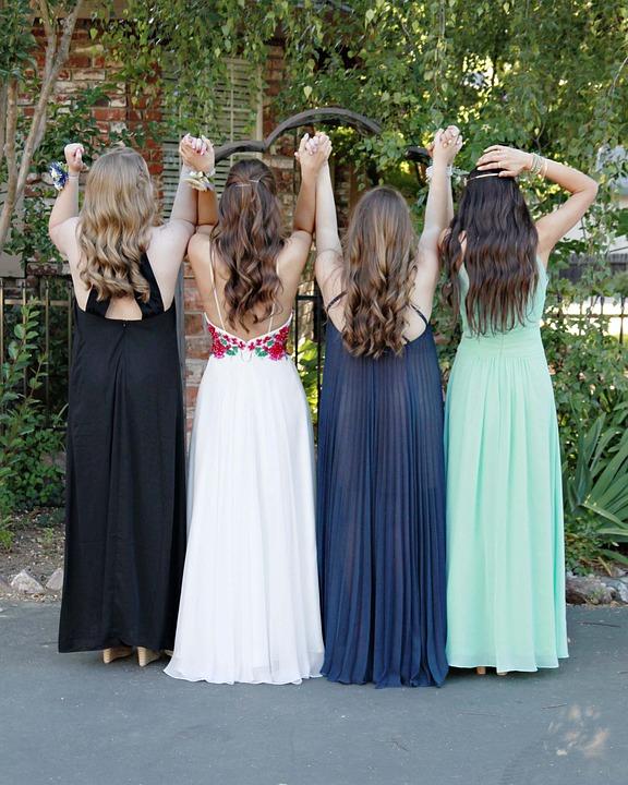 Prom, Dress, Seniors, Gown, Hair, Formal, Dance, Ball