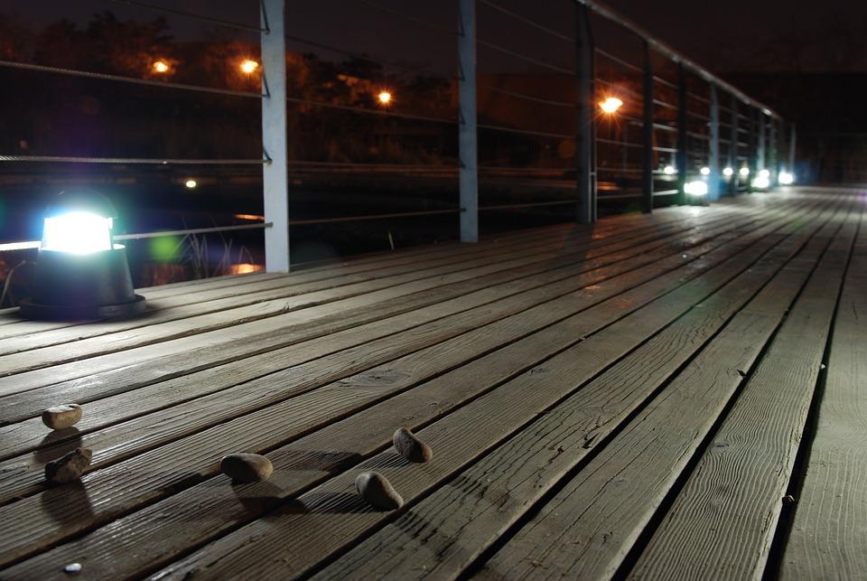 Bridge, Light, Stone, Seonyudo