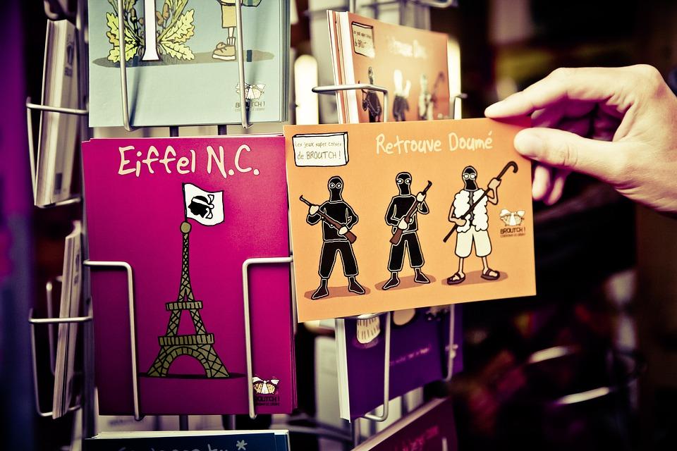 Postcard, Corsica, Fight, Secession, Separatists