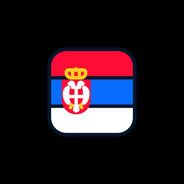 Serbia, Serbia Icon, Serbia Flag, World Cup Russia