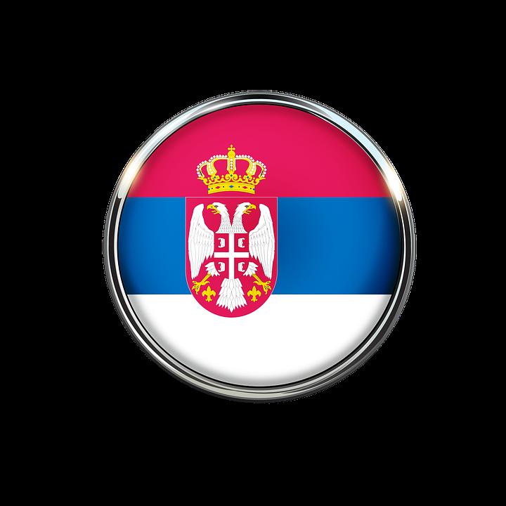 Serbia, Flag, Icon, Europe, National, Free Image, Sign